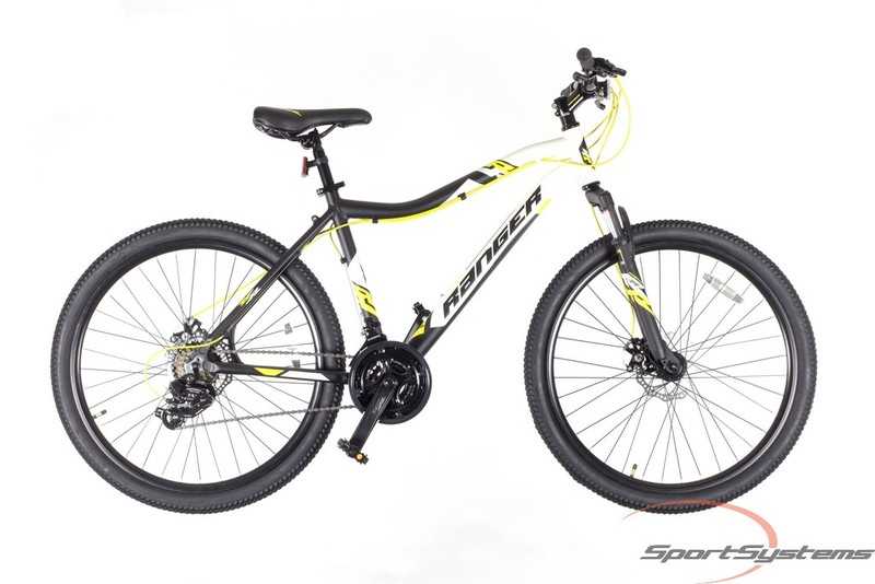 R magnum 26 disc white black yellow